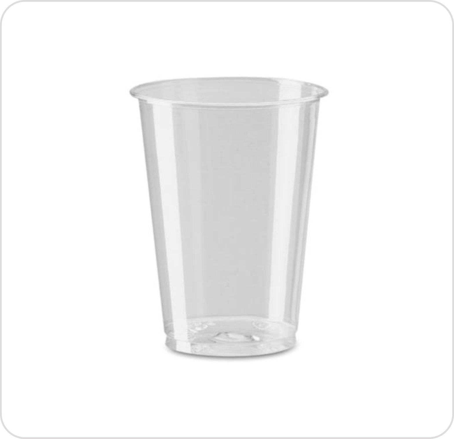 Cup 7 oz Plastic Flexible Clear