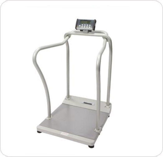 Scale Platform Digital 1000 lb/454 kg