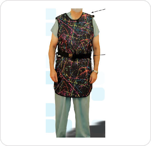 Lead Apron Front with Lumbar Support Belt