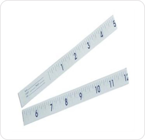Tape Measure Infant Disposable Paper 24""