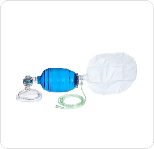 Bag Manual Resuscitation with Bag Reservoir