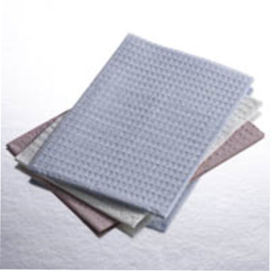 "Medical Towel 13"" X 18"" 3Ply Tissue White Embossed"