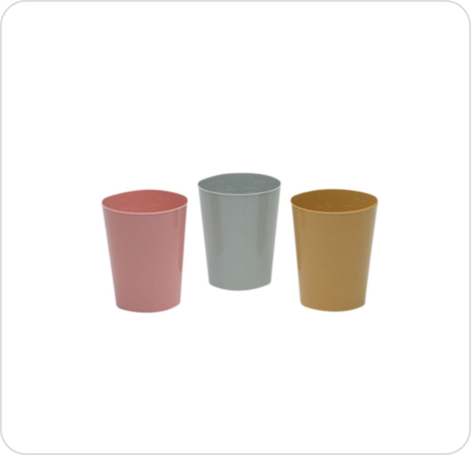 Cup 8 oz Graduated Disposable Poly