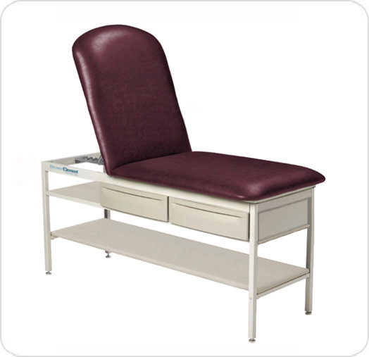 Element Treatment Table Adj Back Flat Top