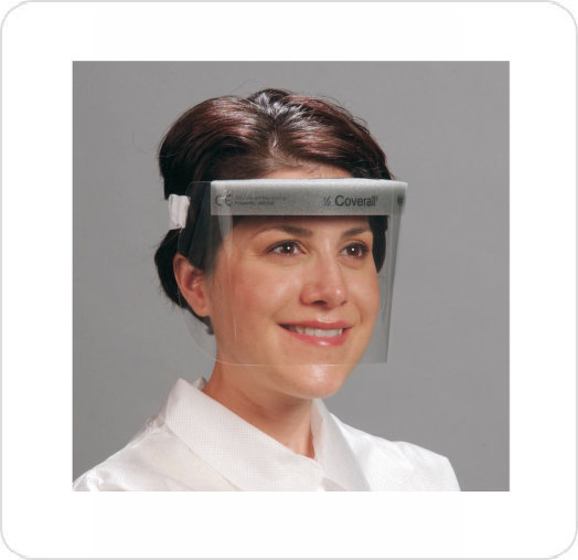Face Shield Anti-fog w/Comfort band