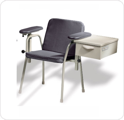 Chair Blood Drawing Height-Adjustable Armrest