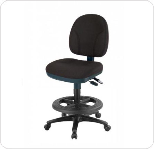 Stool Drafting Comformatic Tilt Seat & Back