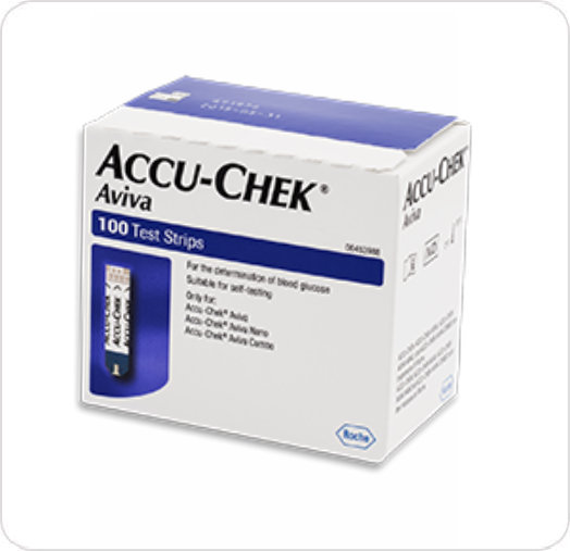 Strip Blood Glucose Test Accu-Chek Avivia