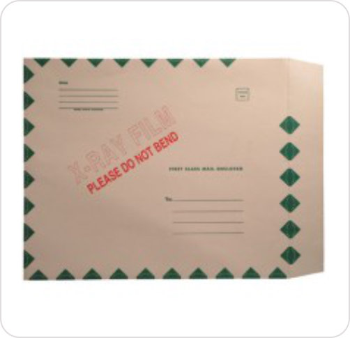 Mailer Peel & Stick Green Border
