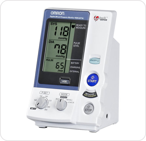 Monitor Digital Blood Pressure  IntelliSense Professional