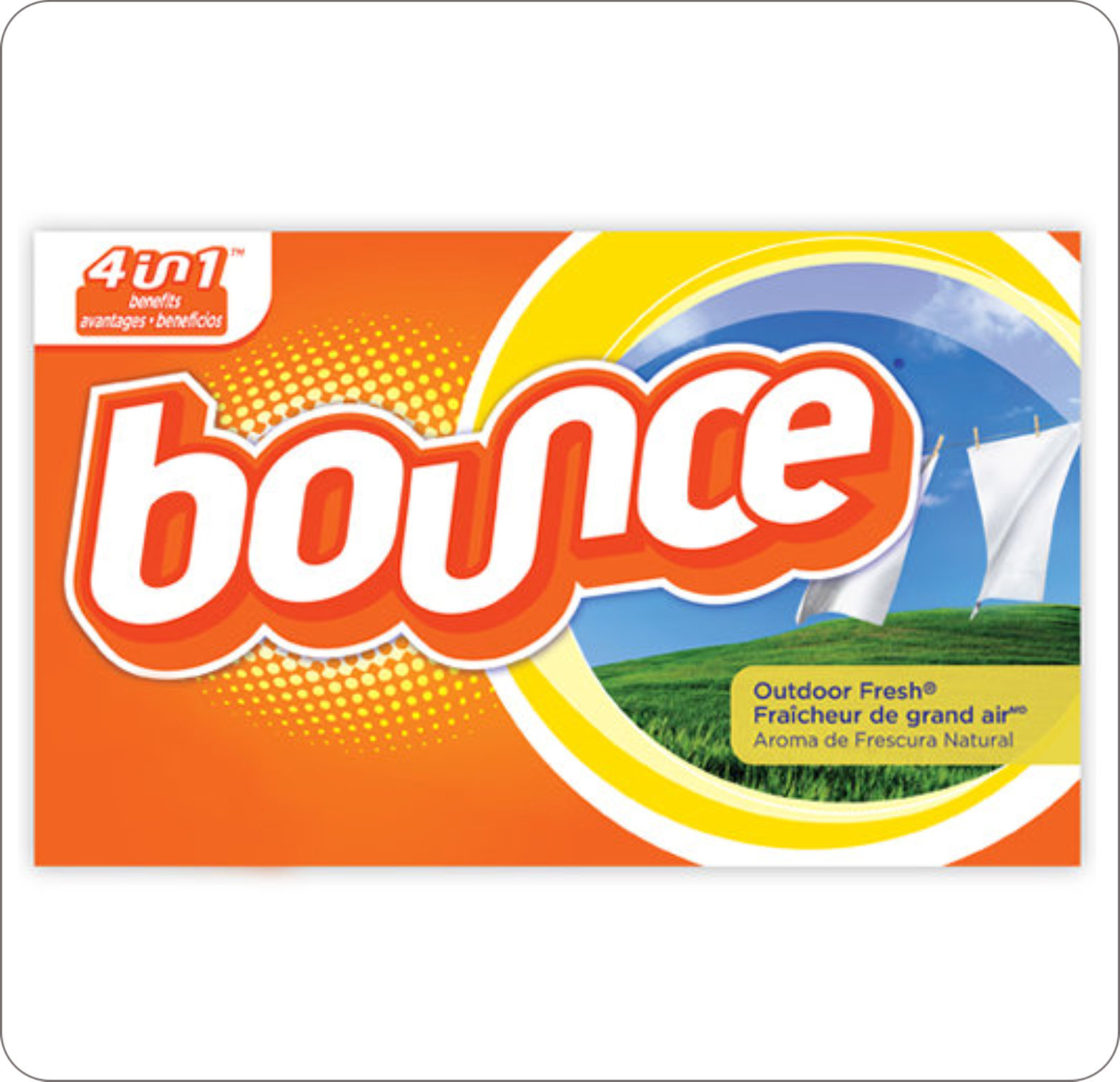Softener Fabric Bounce Sheet Outdoor Fresh