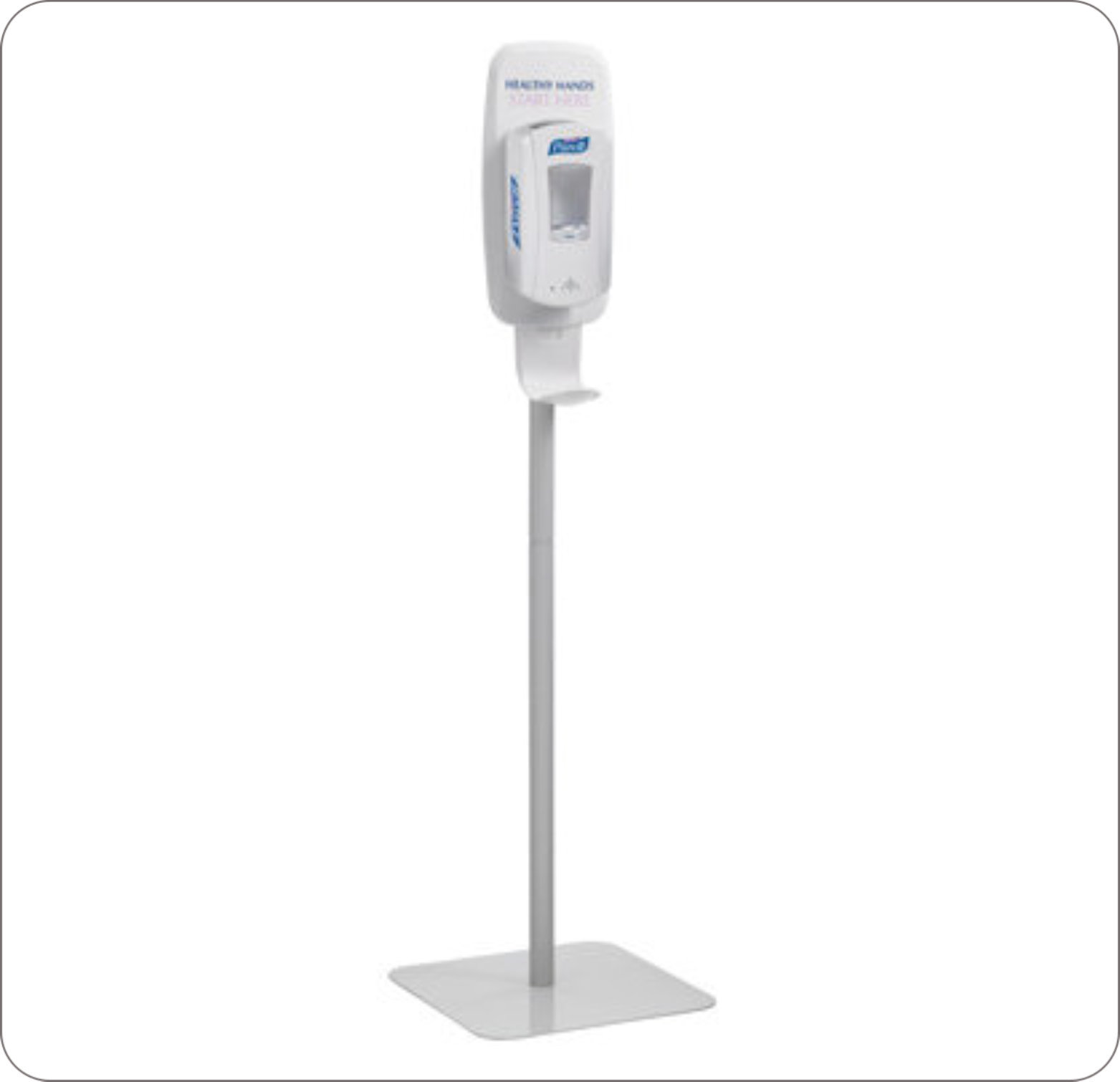 Stand Floor For Purell Tfx Touch Free Dove Grey
