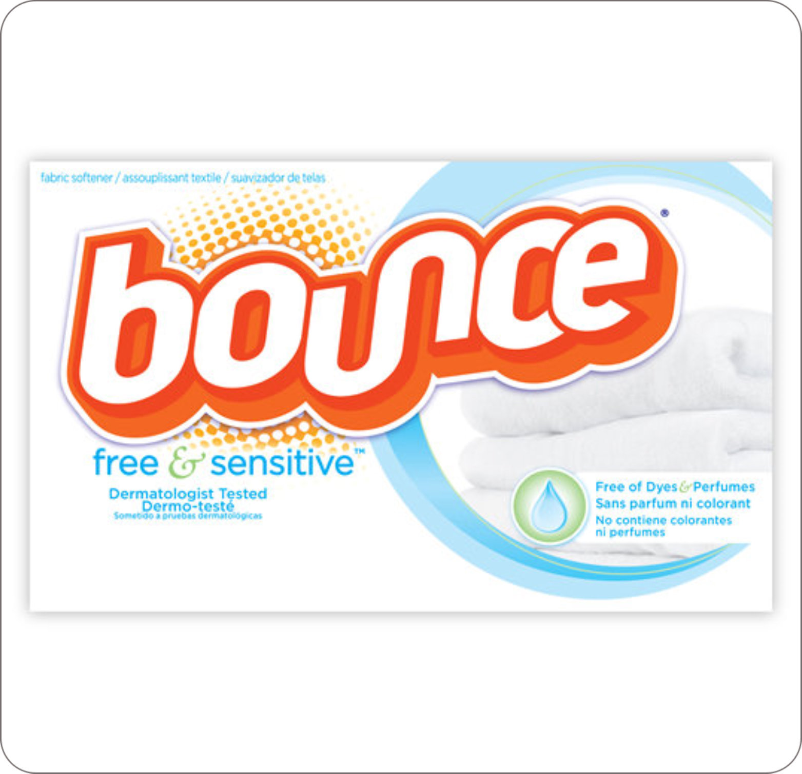 Softener Fabric Bounce Sheet Unscented