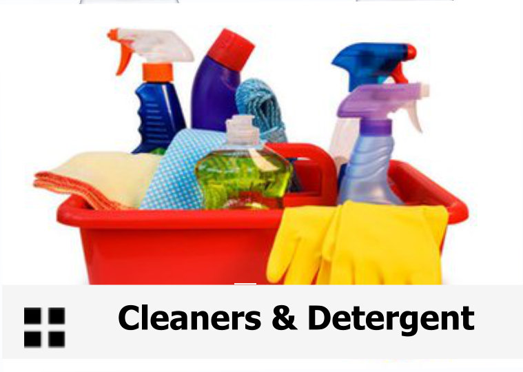 CLN- CLEANERS & DETERGENTS