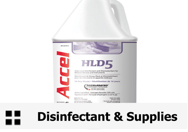 DIS- DISINFECTANT & SUPPLIES