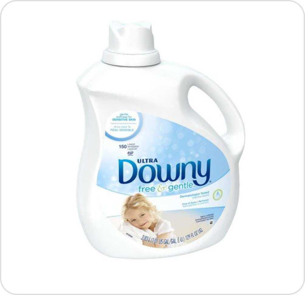 Softener Ultra Downy HE Liquid Unscented 2.68L