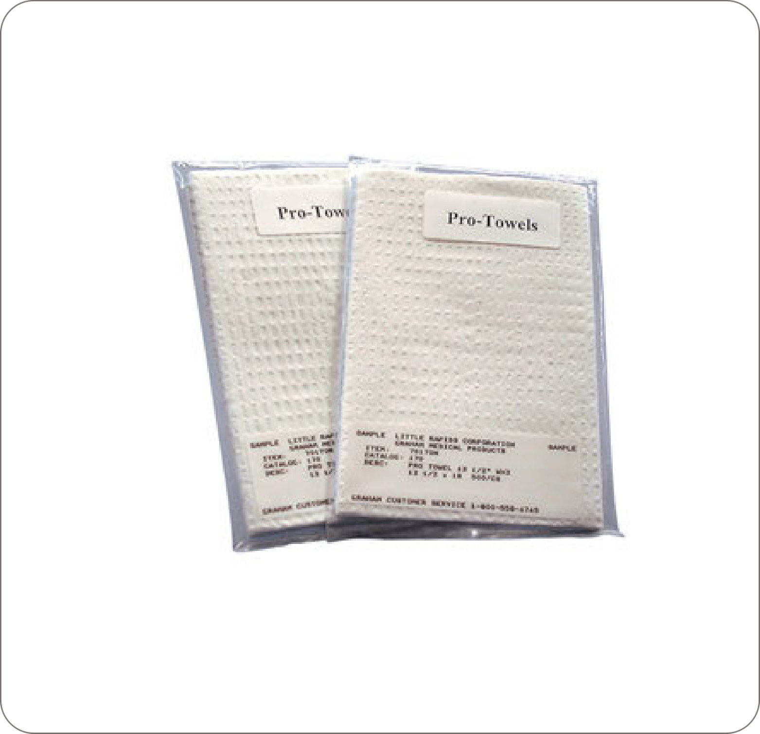 "Towel Professional 13""X18"" 3Ply Tissue"