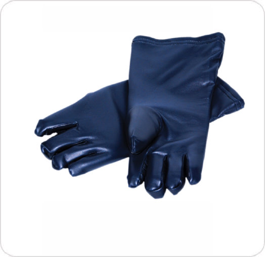 "Gloves Lead Vinyl 15"" w/ Inner Liner"