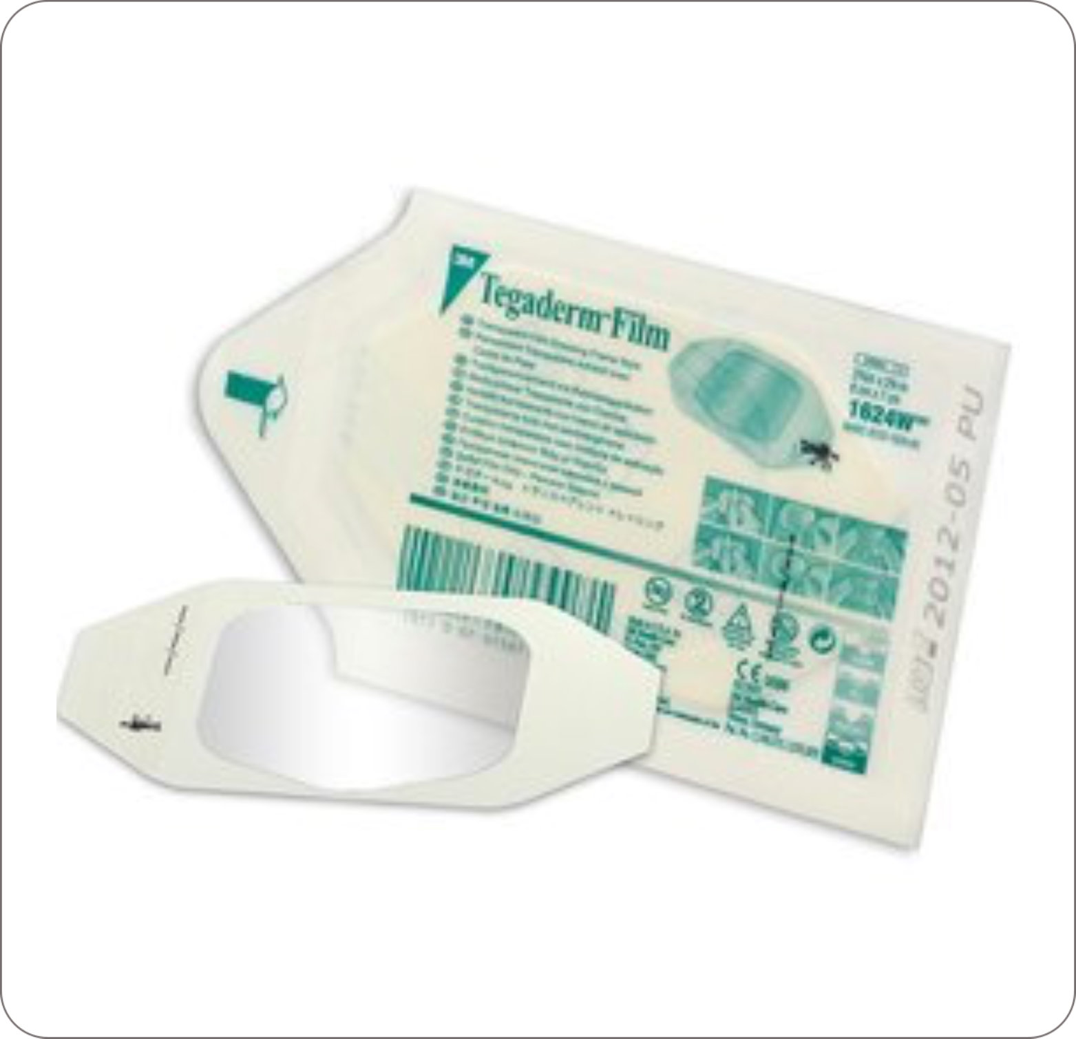 Dressing Transparent Film Tegaderm 1624W