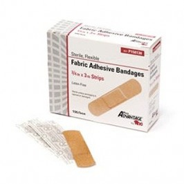 "Bandage Sheer Adhesive Strip 3/4"" x 3"""