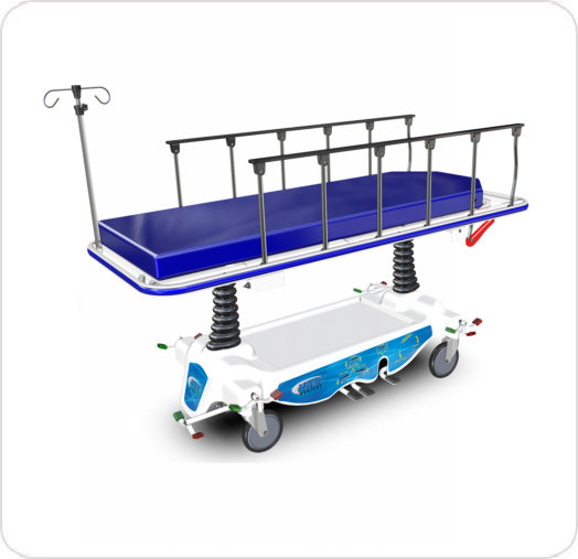Stretcher Transport Trendelenburg Adjustable Height