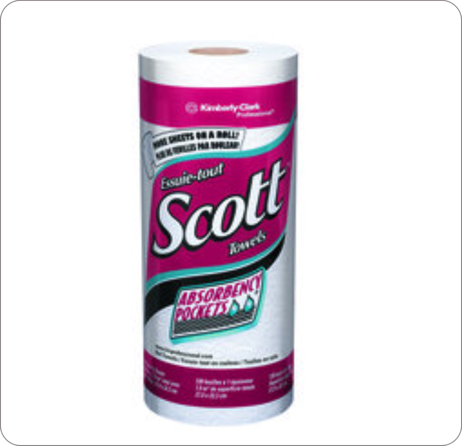 Towel Roll Perforated Scott 1Ply 41482