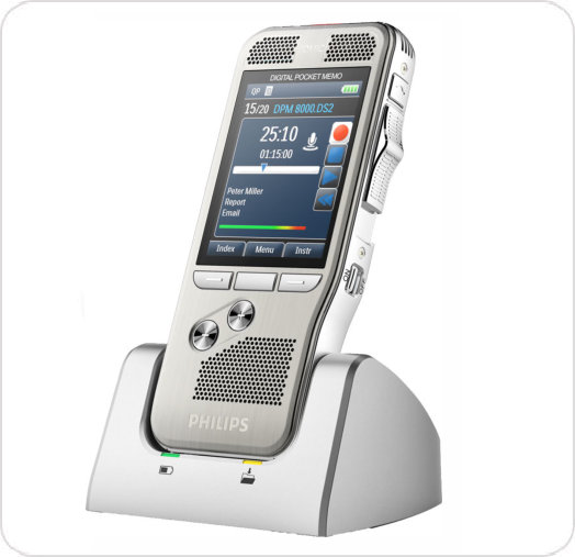 Recorder Digital Voice Pocket Memo DPM8000