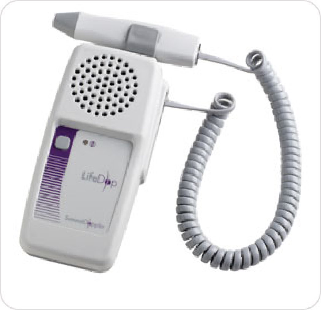 Doppler Vascular LifeDop 250 with 8 MHz Probe