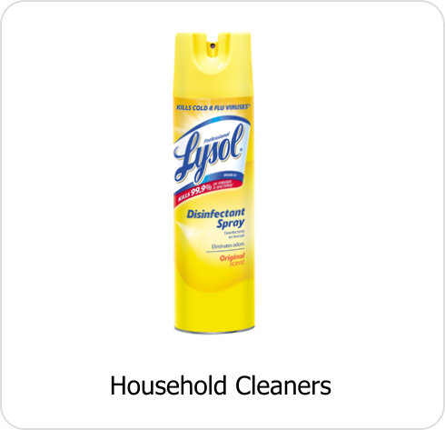 CLN-Household Cleaners