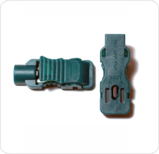 ECG Alligator Clip Adapter Lead Wire Green