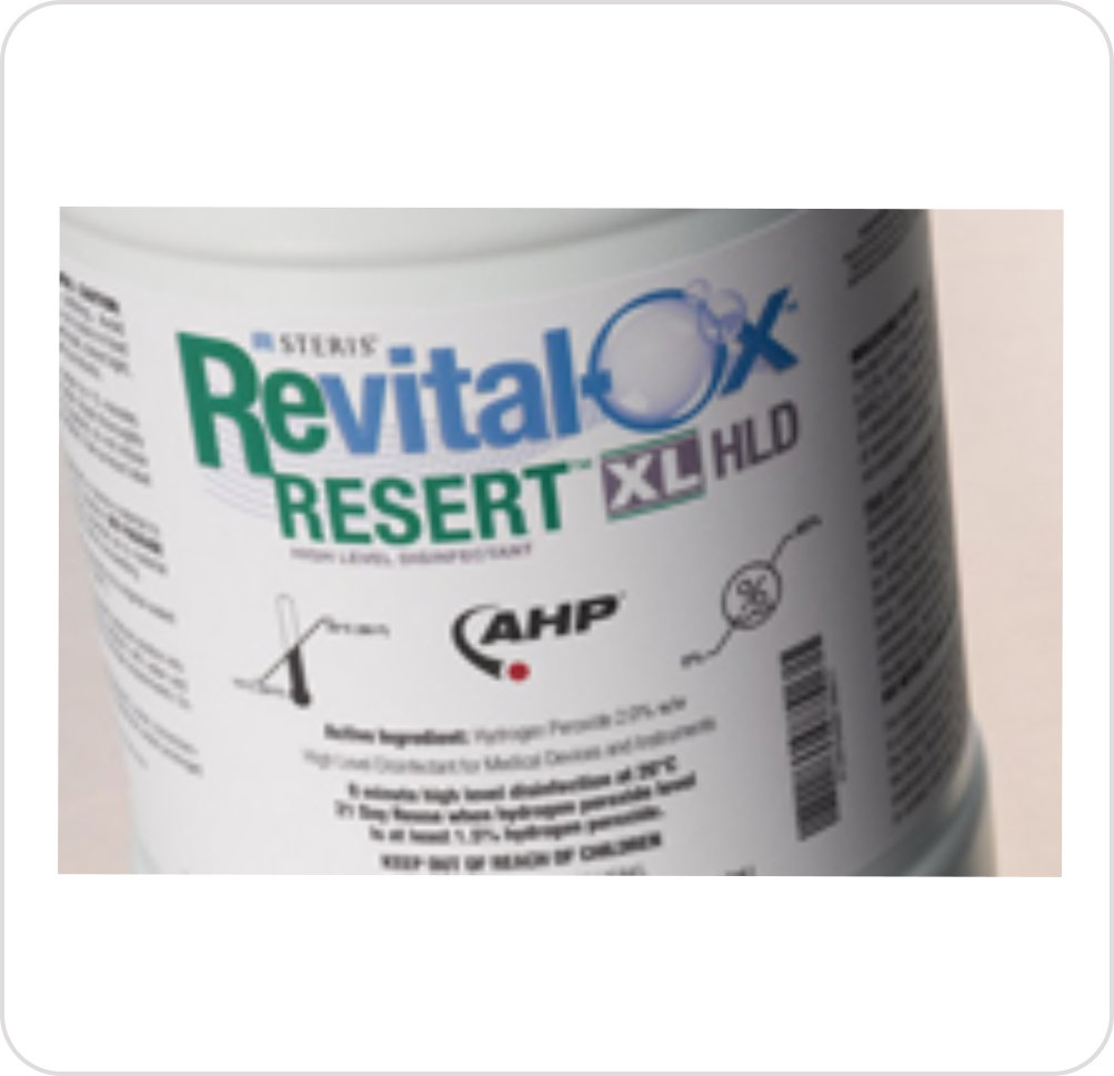 Disinfectant Soaking Revital-Ox™ Resert® HLD