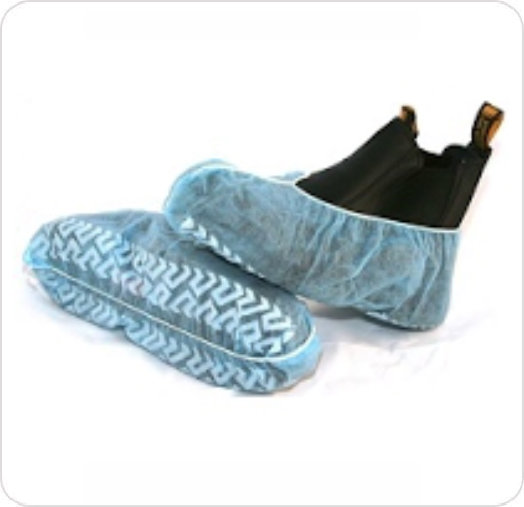 Shoe Cover Non Skid Bottom Regular Size Latex-Free