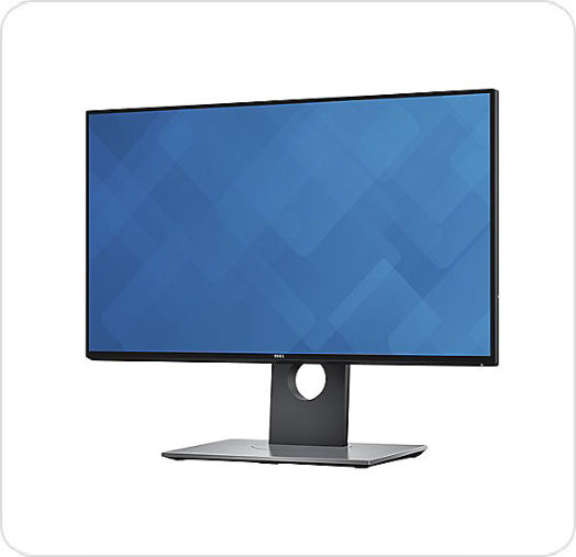 "Monitor LED Dell UltraSharp 24"" U2417DH"