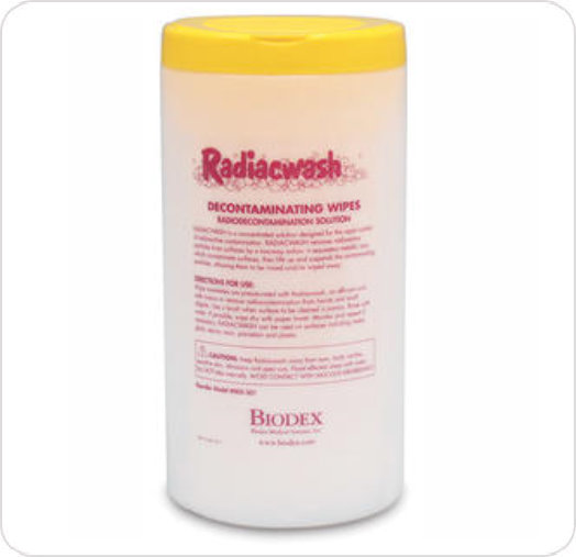 Wipes Radiacwash™ Decontaminating