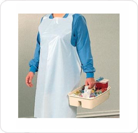 Apron General Purpose White 10401