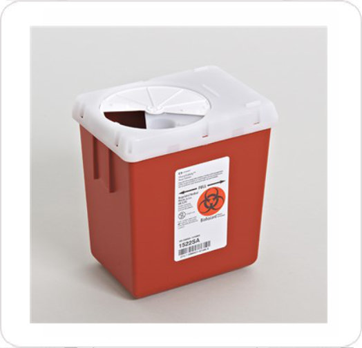 Sharps Collector 2.2 Quart Red 1522SA
