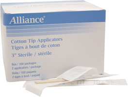 Applicator Cotton Tip Non-Sterile 6""