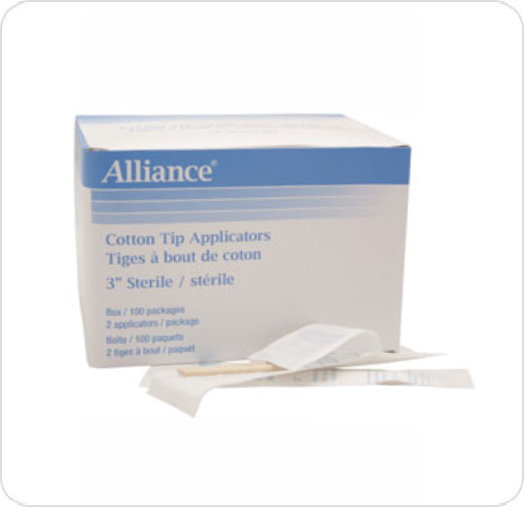 Applicator Cotton Tip Sterile