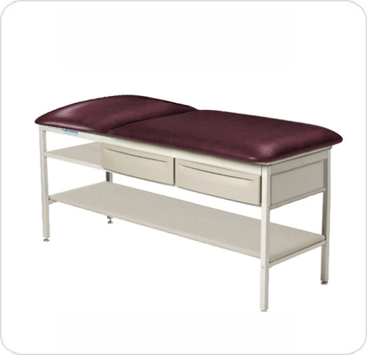 Element Treatment Table Flat with Shelf and Drawers