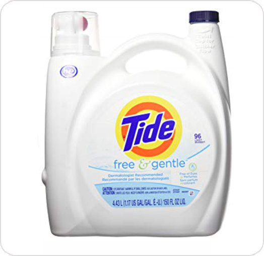 Detergent Laundry Tide Free & Gentle 23067