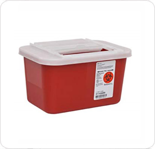 Sharps Collector 1 Gallon Red 31143699
