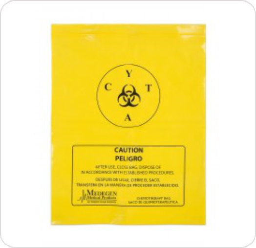Bag Chemotherapy Waste Handling Yellow