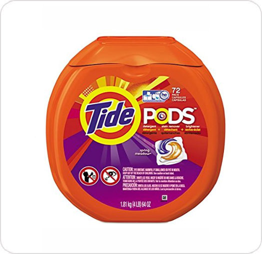 Detergent Laundry Pods Tide Spring Meadow Scent