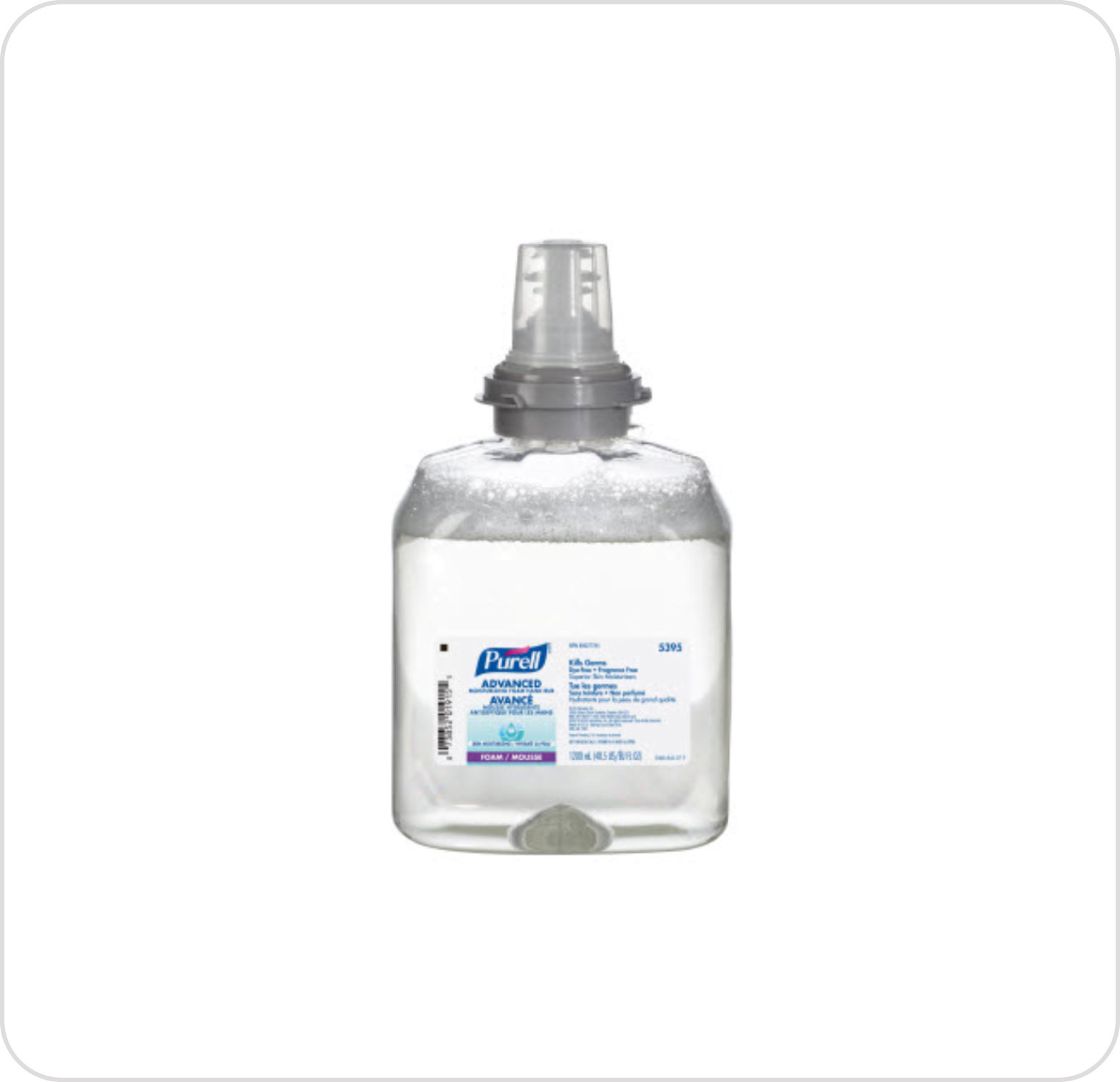Purell Instant TFX Clear Foam 5395-02