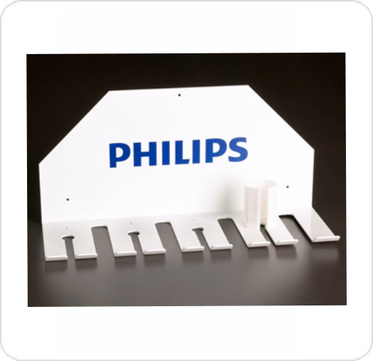 Storage Rack for Philips Compact Connectors
