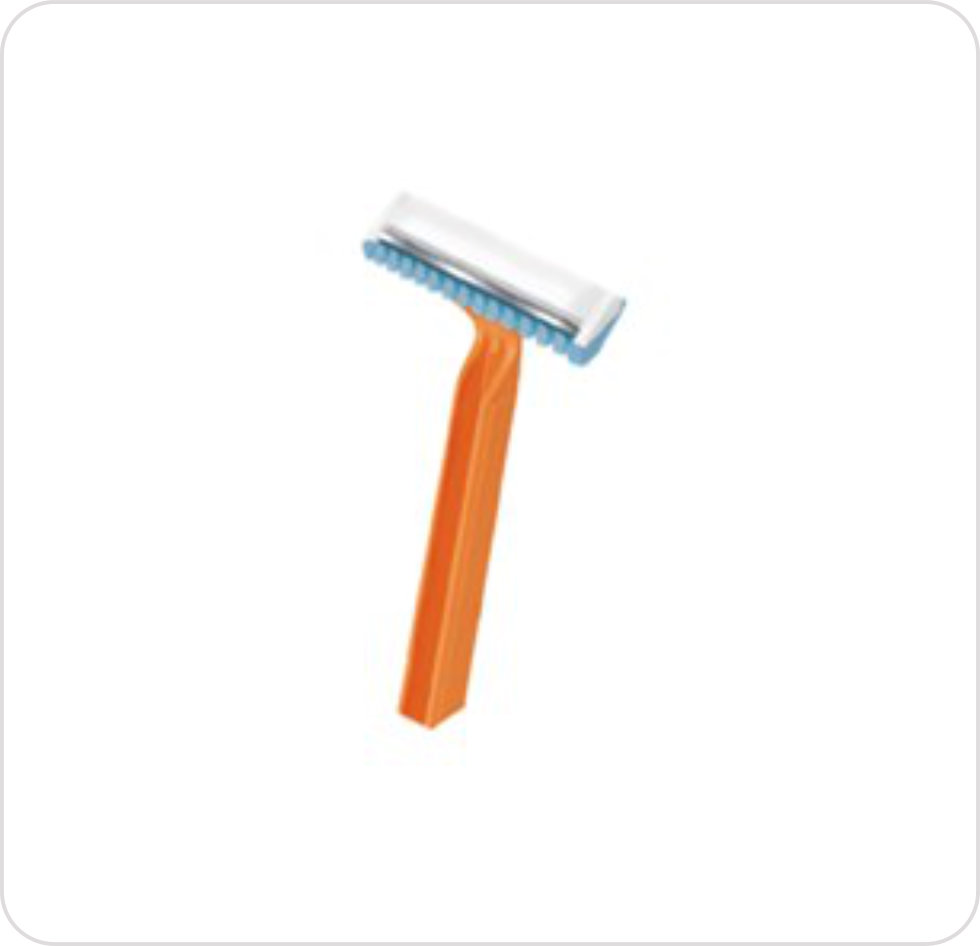 Prep Razor Disposable Single Blade Personna 75-4008