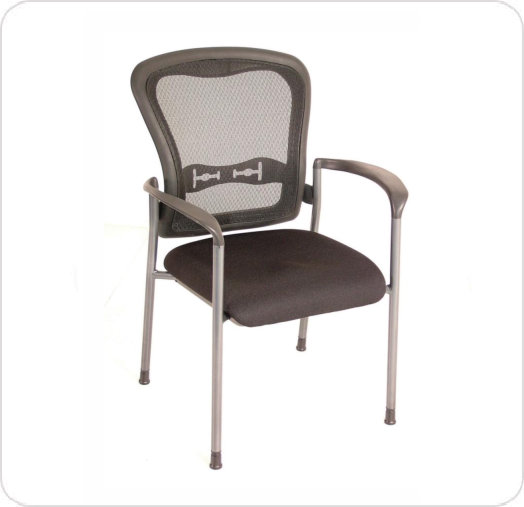 Armchair Spice 7804T Mesh Back Vinyl Seat Stackable