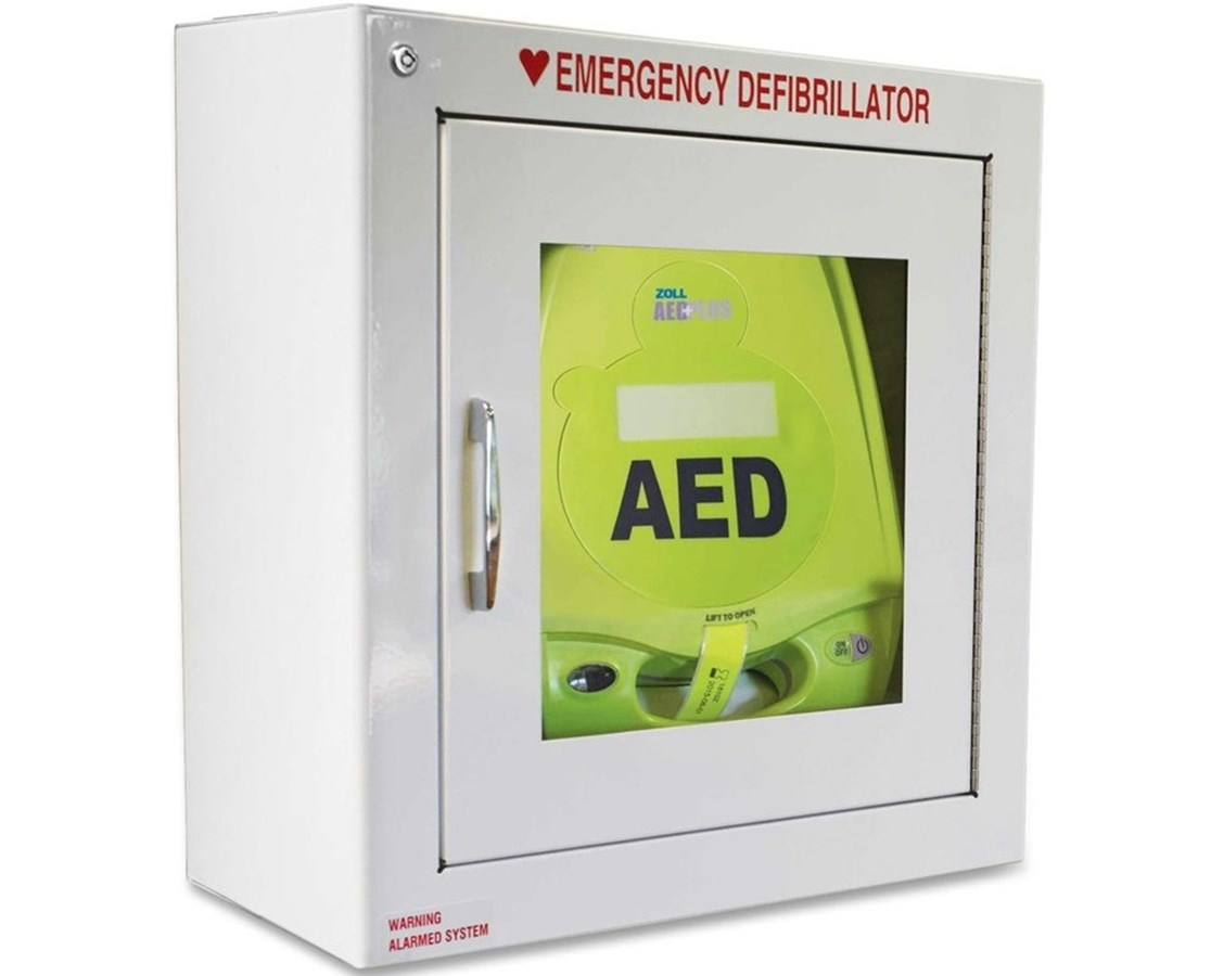 Cabinet Wall Metal for AED Plus Defibrillator