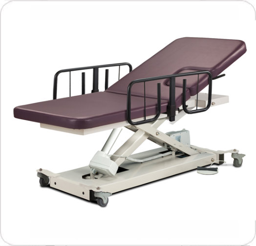 Table  Imaging w/Safety Rails, Locking Casters 85200-087-082