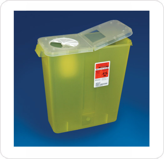 Collector Sharps 3 Gallon Hinged Lid 8525Y